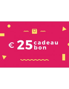 Cadeaubon 25